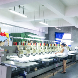 20 KOREAN EMBROIDERY MACHINES 20头韩国绣花机